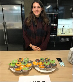 Me and my Cupcakes at the Bake Off